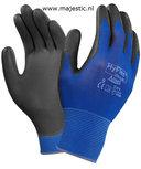 Ansell handschoen HyFlex 11-618, zwart/donkerblauw