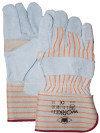 A-Kwaliteit splitlederen handschoen palmversterking
