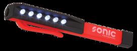 Zaklamp 6 LEDs
