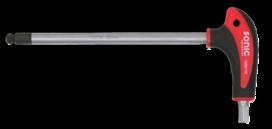 T-Greepsleutel, inbus met kogelkop 4mm