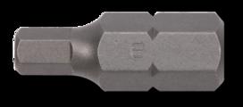 Bit 10mm, inbus 30mmL  6mm