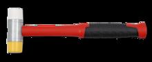 Kunststof hamer zacht/hard 35mm