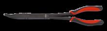 Langbektang met dubbel scharnier, extra lang, 45 graden gebogen
